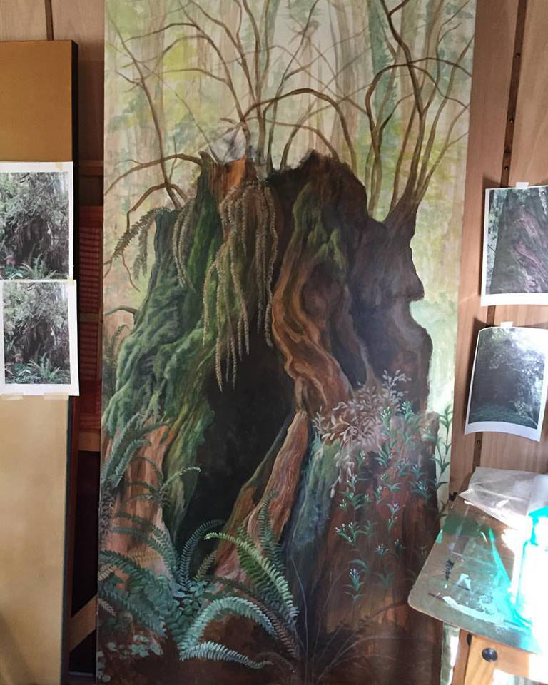 Transmutation: Doors to Recovery Tahoe Truckee fine artist community art