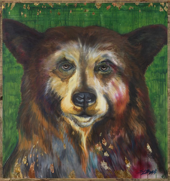 Big Bear - Truckee and Lake Tahoe fine artist wildlife painter nature painting