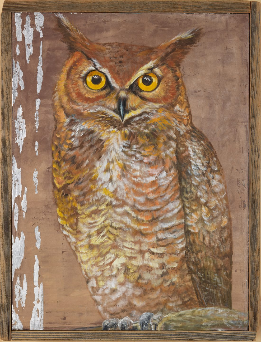 Great Horned Owl - Truckee and Lake Tahoe fine artist wildlife painter nature painting