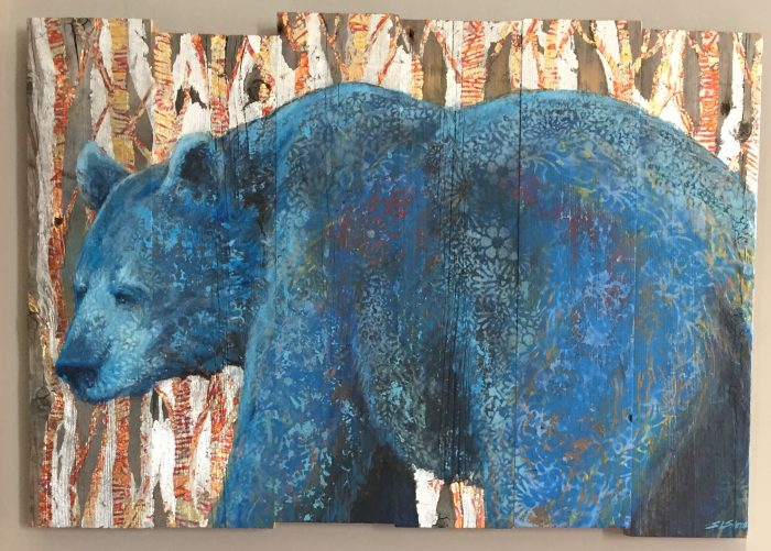 Blue Bear - Truckee and Lake Tahoe fine artist wildlife painter nature painting
