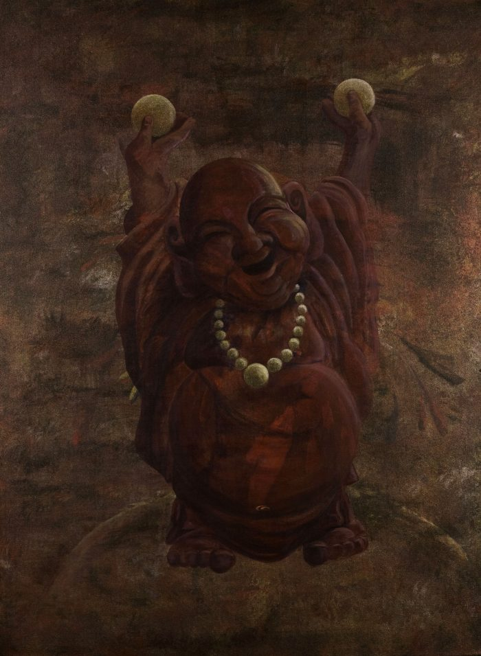 Transmutation - Happy Buddha Truckee and Lake Tahoe fine artist spiritual painting