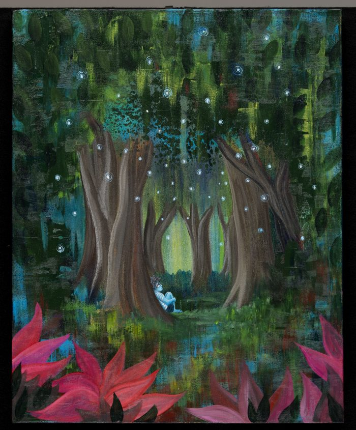 The Dreaming Trees: Firefly Nights Tahoe Truckee fine art nature painting