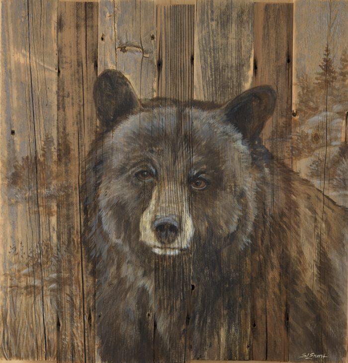 Tahoe Black Bear - Truckee and Lake Tahoe fine artist wildlife painter nature painting