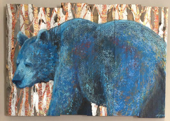 Blue Bear - Truckee and Lake Tahoe fine artist wildlife painter nature painting